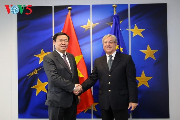 Vietnam y Bélgica acuerdan ampliar la cooperación bilateral - ảnh 1
