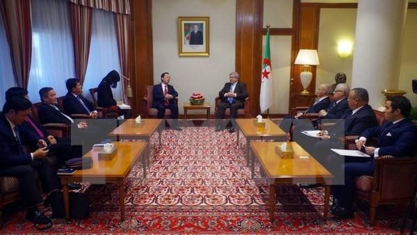 Argelia aspira a reforzar la colaboración con Vietnam - ảnh 1