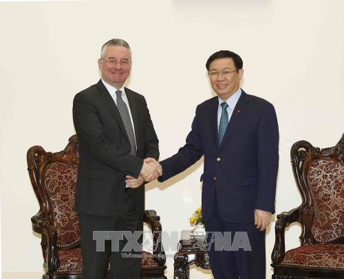 Grupo Parlamentario de Amistad Vietnam-UE juega un rol clave para las relaciones bilaterales - ảnh 1