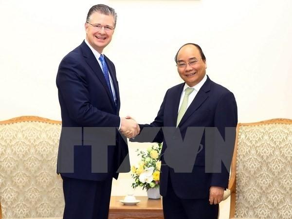 Fortalecen relaciones entre Vietnam y Estados Unidos - ảnh 1