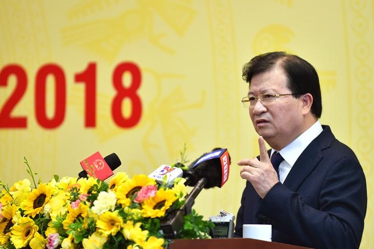 Grupo de Electricidad de Vietnam establece las nuevas tareas para 2018 - ảnh 1