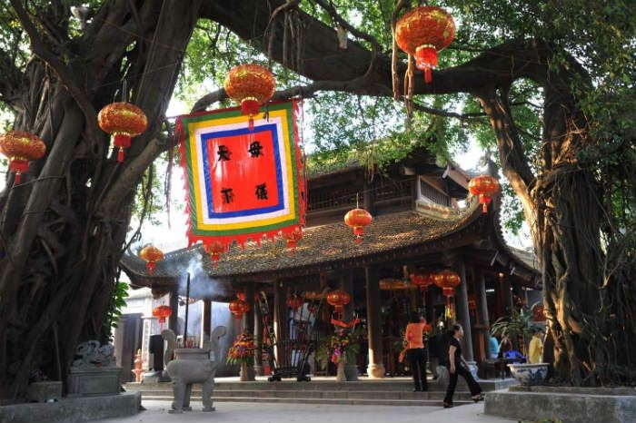 Templo Mau, lugar sagrado de provincia de Hung Yen - ảnh 2