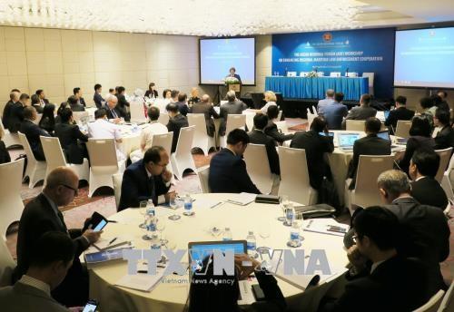 Países miembros de la Asean colaboran para garantizar la paz y la estabilidad marítima - ảnh 1