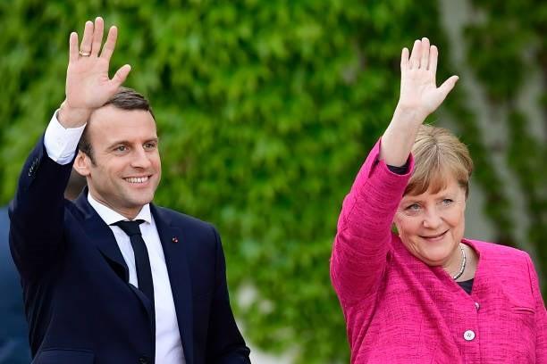Angela Merkel se muestra optimista ante la formación de un gobierno de coalición con el SPD - ảnh 1