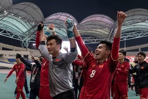Entregan Órdenes de Trabajo a la selección de fútbol sub-23 de Vietnam - ảnh 1
