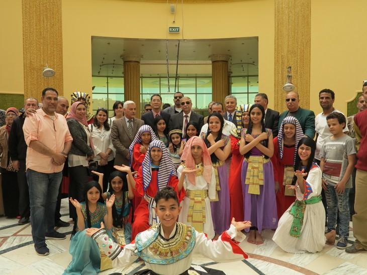 Celebran Día de la Cultura vietnamita en Egipto - ảnh 1