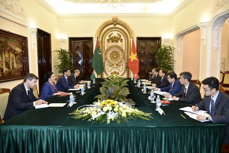 Cancillerías de Vietnam y Turkmenistán realizan consultas políticas - ảnh 1