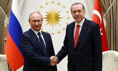 Putin y Erdogan inauguran primer reactor nuclear de Turquía - ảnh 1