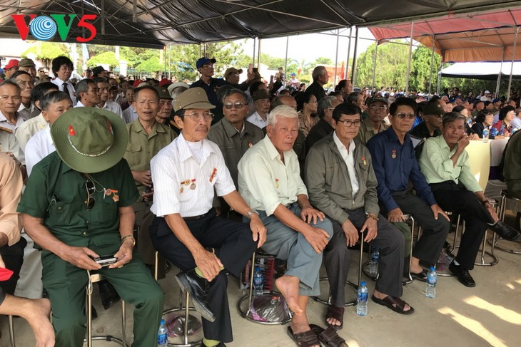 Conmemoran el 45 aniversario de la liberación de ex prisioneros de Phu Quoc - ảnh 1