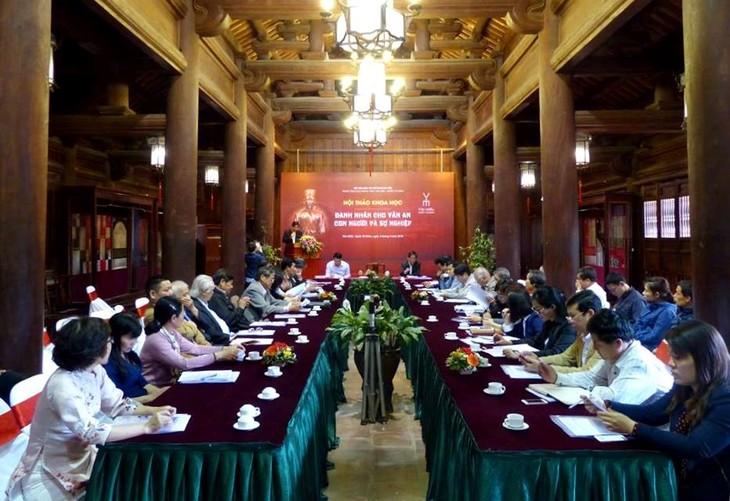 Vietnam busca reconocimiento de Chu Van An como personalidad mundial - ảnh 1