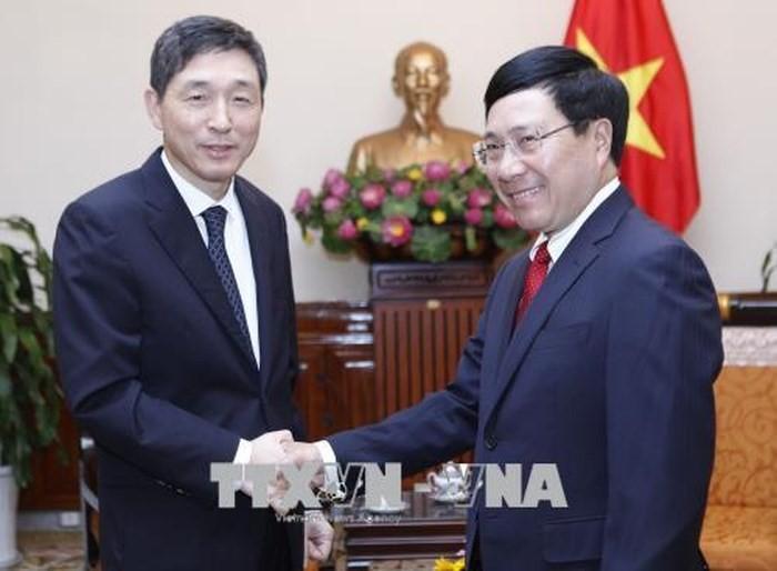 Vietnam reconoce los aportes del saliente embajador surcoreano - ảnh 1