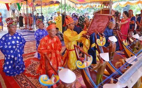 Celebran un ritual dedicado a la flota protectora de Hoang Sa - ảnh 1
