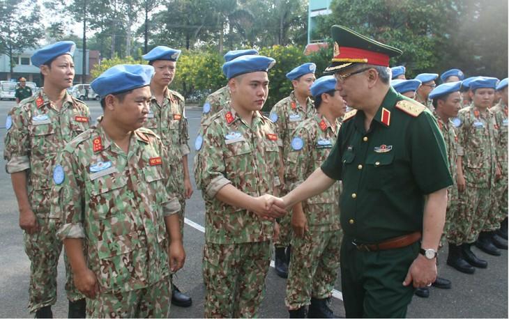 Hospital de campaña de Vietnam listo para misión de paz de ONU - ảnh 1