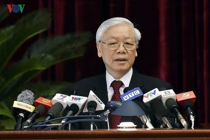 Partido Comunista de Vietnam analiza tres proyectos importantes - ảnh 1