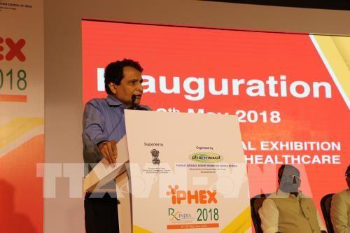 Vietnam participa en Exhibición Internacional de Farmacia y Cuidado de la Salud 2018 en India - ảnh 1