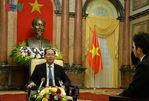 Visita a Japón del presidente vietnamita ayudará a fortalecer asociación estratégica bilateral - ảnh 1