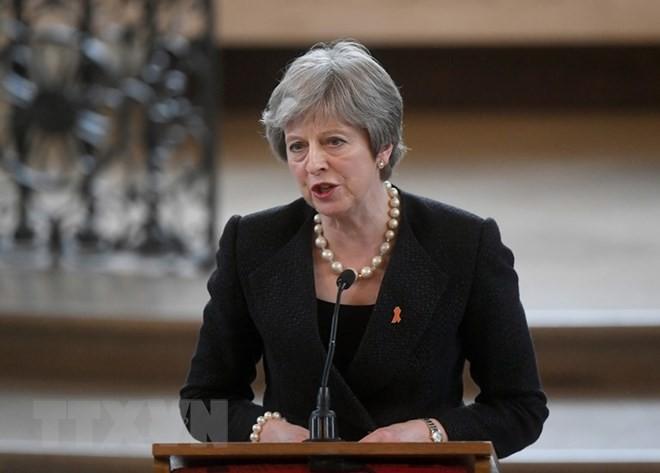 Theresa May mantiene el control del Brexit al lograr una victoria clave en el Parlamento - ảnh 1