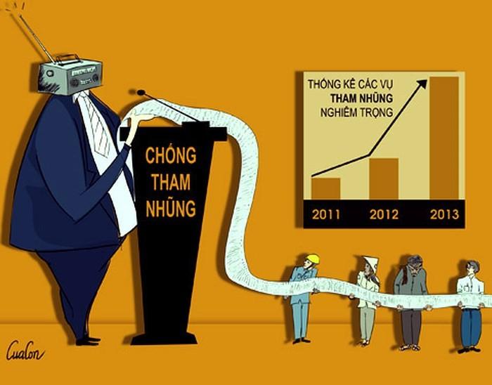 Lanzan concurso de caricaturas sobre la lucha anticorrupción en Vietnam - ảnh 1