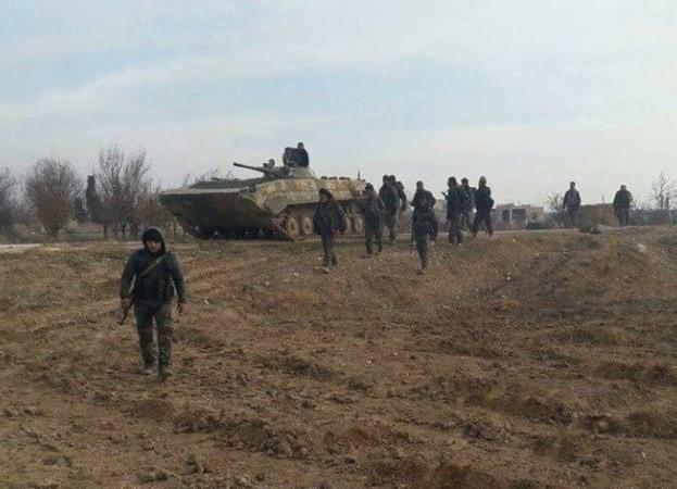 Ejército sirio lanza ofensiva contra bastión rebelde de Daraa - ảnh 1