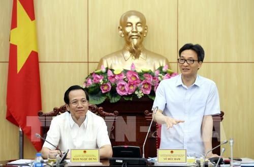 Vicepremier urge a promover democracia en órgano gubernamental - ảnh 1