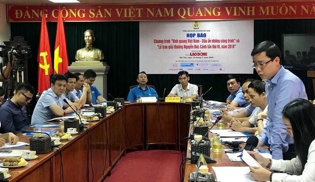 Honrarán las obras de gran significado para el desarrollo socioeconómico en Vietnam - ảnh 1