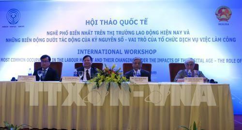 Analizan efectos de la etapa digital para el mercado laboral en Vietnam - ảnh 1