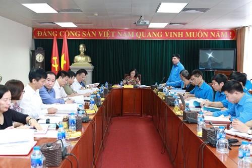 Preparan séptimo Congreso Nacional de Sindicatos de Vietnam - ảnh 1