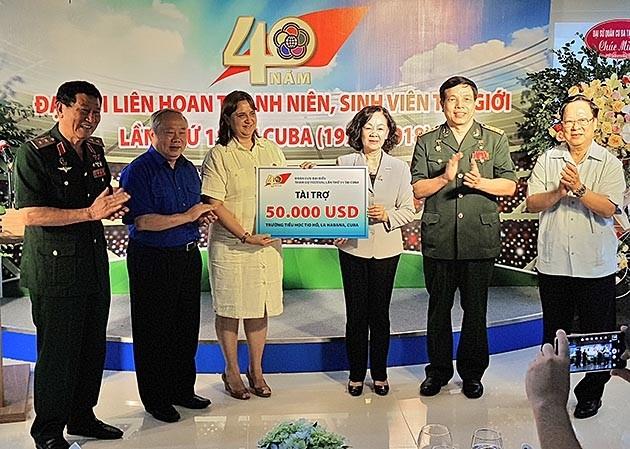 Vietnam conmemora 40 aniversario del Festival Mundial de la Juventud y los Estudiantes - ảnh 1