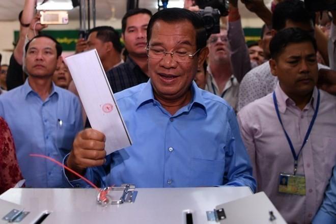 Partido Popular de Camboya consigue todos los escaños del Parlamento - ảnh 1