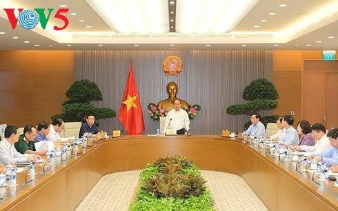 Premier vietnamita dirige preparativos para el Foro Económico Mundial 2018 - ảnh 1