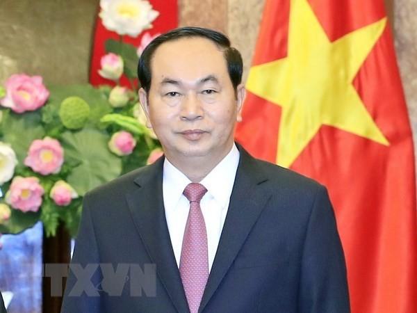 Presidente vietnamita destaca potenciales de cooperación con Etiopía - ảnh 1