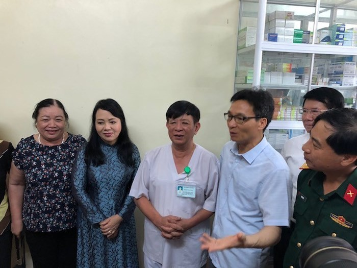 Inauguran el sistema informático de conexión de centros de suministro de medicamentos de Vietnam - ảnh 1