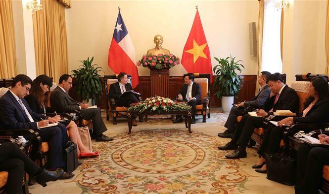Vietnam aspira a consolidar la cooperación con Chile - ảnh 1