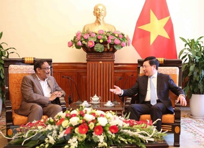 Vietnam y Bangladesh comprometidos a fortalecer los nexos bilaterales - ảnh 1