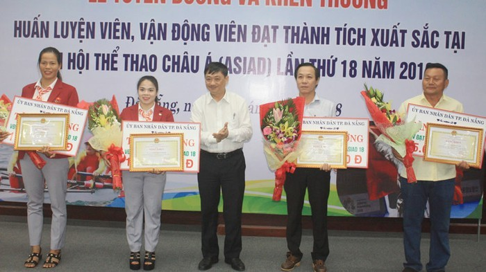 Da Nang reconoce aportes de sus deportistas a logros de Vietnam en Asiad 2018 - ảnh 1