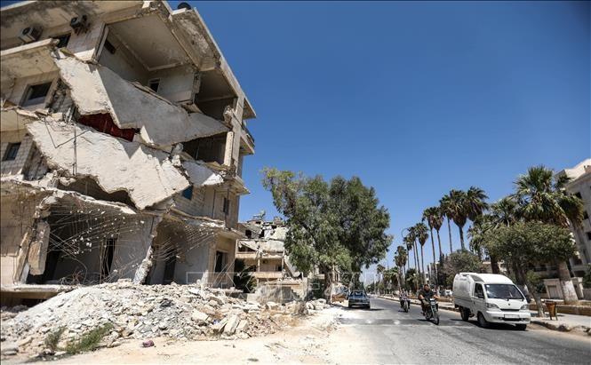 Siete países llaman a poner fin a la guerra en Siria - ảnh 1