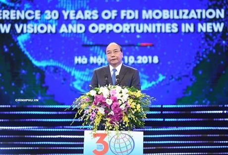 Vietnam determinado a mejorar su atracción de la Inversión Extranjera Directa - ảnh 1