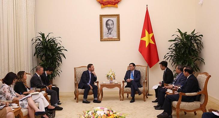 Vietnam aspira a reforzar la colaboración comercial con el Reino Unido - ảnh 1