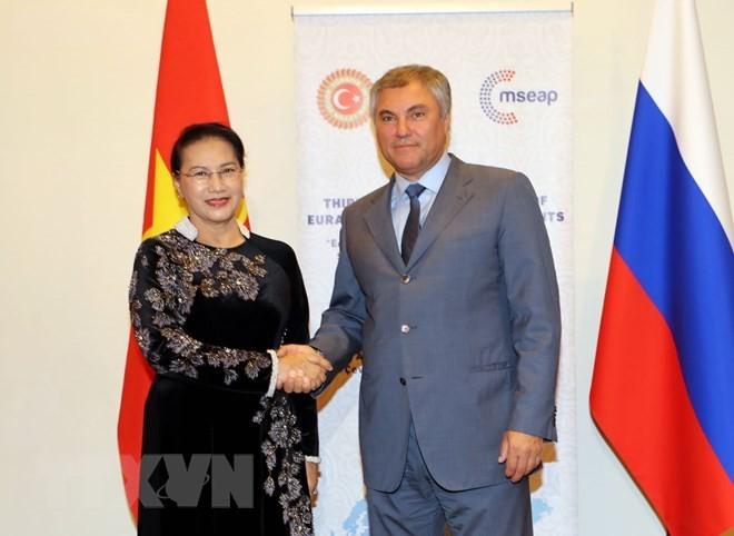 Consolidan la cooperación parlamentaria entre Vietnam y Rusia - ảnh 1