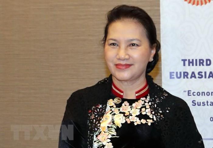 Líder parlamentaria vietnamita visita Turquía - ảnh 1