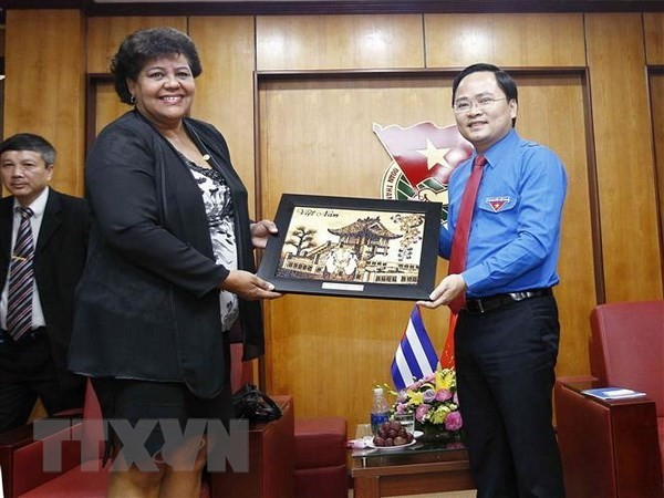 Vietnam y Cuba estrechan cooperación en sector juvenil - ảnh 1