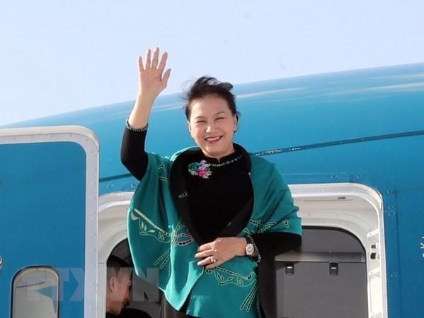 Máxima legisladora de Vietnam finaliza con éxito visita a Turquía - ảnh 1