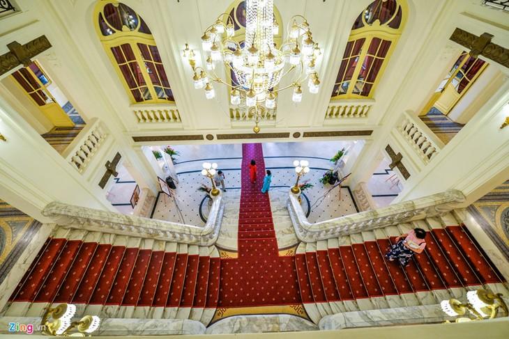 Visitas a la Ópera de Hanói: un nuevo y atractivo producto turístico-cultural - ảnh 2