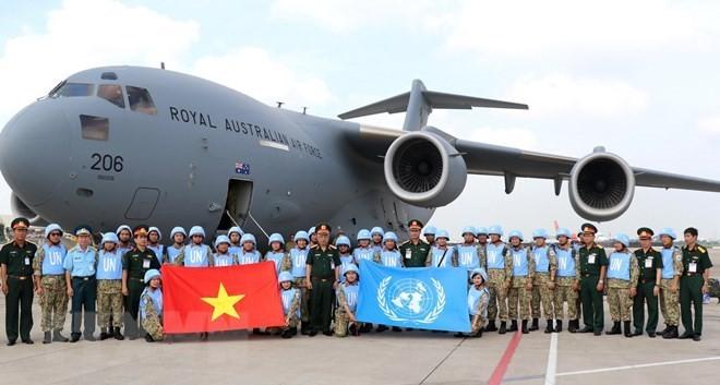 Mejoran capacidad vietnamita en el mantenimiento de paz de la ONU - ảnh 1