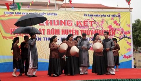 """Hai Phong protege y promueve el """"hat dum"""", nuevo Patrimonio Cultural Intangible de Vietnam - ảnh 1"""
