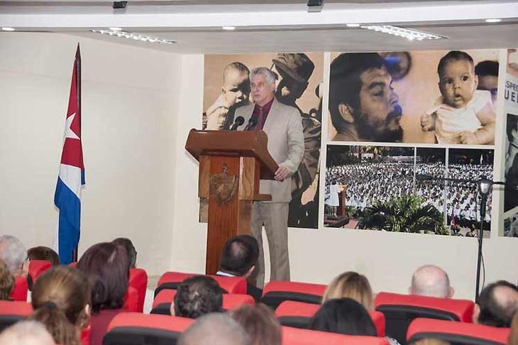 Presidente cubano resalta la labor de médicos nacionales en Brasil - ảnh 1