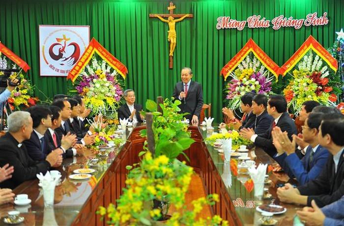 Vietnam felicita a comunidad católica por Navidad 2018 - ảnh 1