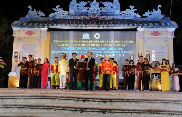 Los eventos culturales más destacados de Vietnam en 2018 - ảnh 2