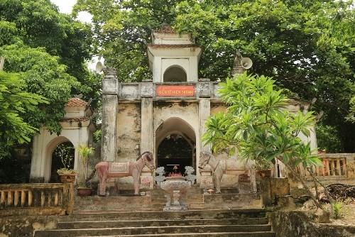 Templo Lac Thi, muestra de historia gloriosa de Thang Long - ảnh 1