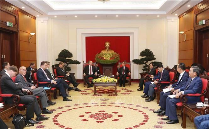 Vietnam aspira a estrechar la colaboración comercial e inversionista con Alemania - ảnh 1